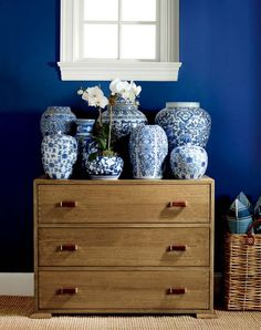 Transform your home with classic style, the rich, deep Spinnaker blue from Ralph Lauren Paint