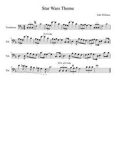 Star Wars Theme [Trombone]