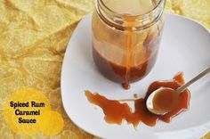 Caramel Sauce with Spiced Rum