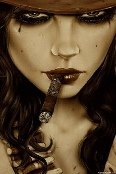 Brian Viveros- each work of art is of a woman survivor and he shows their strength & story in their eyes