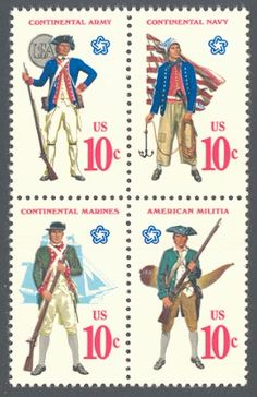 1975 Bicentennial 200th Anniversary of the U.S. Military Services