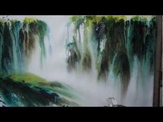 "Watercolor landscape in 10 minutes demo ""Tree of dreams"" - YouTube"