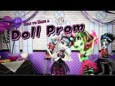 ▶ How to Make a Doll Prom - YouTube