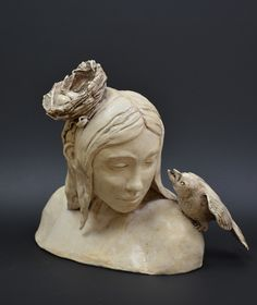 Becky Mancuso.  Hand built stoneware