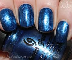 Lawless Lacquer: China Glaze - Blue Bells Ring