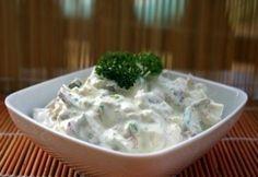 23 majonézes saláta - a kedvenceitekből | NOSALTY My Recipes, Salad Recipes, Cooking Recipes, Recipies, Cold Dishes, Green Eggs And Ham, Sweet And Salty, Salad Dressing, Cabbage