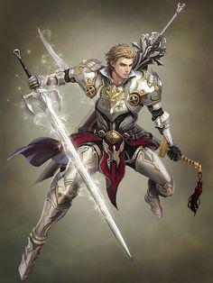 Sword master, Yunjae Kim on ArtStation at https://www.artstation.com/artwork/sword-master-a4bce169-31ee-478f-a921-e26fdb8bf2de