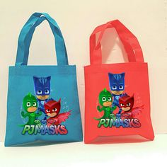 Check out this item in my Etsy shop https://www.etsy.com/listing/508875333/10-pj-masks-favor-bags-pj-masks-themed