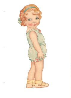 Polly Peppers 1939* 1500 paper dolls at International Paper Doll Society by artist Arielle Gabriel #ArtrA #QuanYin5 Linked In QuanYin5 Twitter *