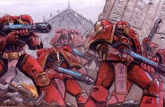 Thought of the Day: The guilt of heresy weighs heavy on the soul.  Pre here's Thousand Sons.