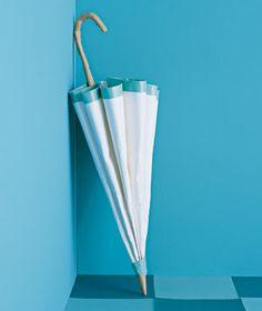Paper Umbrella by Matthew Sporzynski for Real Simple