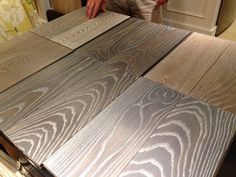 Custom options from WD Flooring.