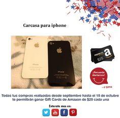 ¿Necesitas un reemplazo de carcasa para tu iphone? Mira lo que Amazon tiene para ti  http://amzn.com/B00AIG7Z1I