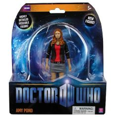 Doctor Who Amy Pond Action Figure by Underground Toys. $19.99. Matt Smith takes over as the Eleventh Doctor!    It's a new era for all Doctor Who fans!     Detailed and articulated Amy Pond Action Figure based on the show!   Matt Smith takes over as the Eleventh Doctor, and it's a new era for all Doctor Who fans!  This highly detailed, poseable action figure based on the BBC TV series Doctor Who stands 5-inches tall and features the Doctor's able assistant, Am...