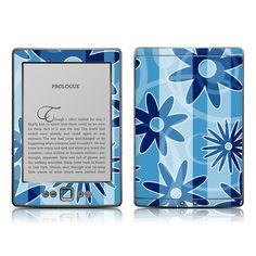 Kindle 4 Skin - Blue Razz by FP | DecalGirl