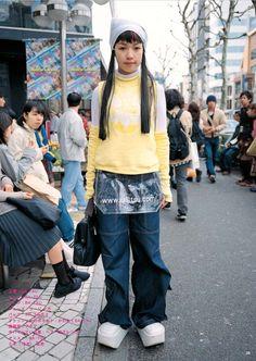 Aesthetic Institute — Selections from FRUiTS Magazine No. Harajuku Girls, Harajuku Fashion, Japan Fashion, Runway Fashion, Asian Street Style, Tokyo Street Style, Japanese Street Fashion, Look Cool, Cool Style