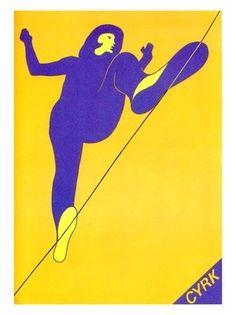 1970 C Cyrk, Polish Circus Poste Graphic Design Illustration, Graphic Art, Illustration Art, Vintage Circus Posters, Polish Posters, Kunst Poster, Circus Art, Royal Ballet, Grafik Design