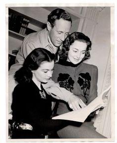 Vivien Leigh, Olivia de Havilland, Leslie Howard