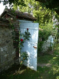 The Murmuring Cottage Garden gate