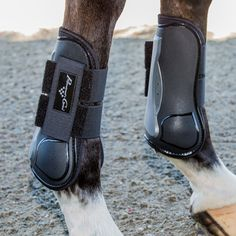 Pro Performance Memory Foam Open Front Show Jumping Boots