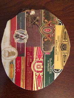 Custom made Cigar Band Coaster #4 of 4