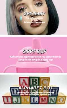 Cry Baby - Sippy Cup - Alphabet Boy