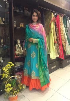 Colors & Crafts Boutique™ offers unique apparel and jewelry to women who value versatility, style and comfort. For inquiries: Call/Text/Whatsapp Indian Attire, Indian Ethnic Wear, Punjabi Fashion, Indian Fashion, Ethnic Outfits, Indian Outfits, Kurta Designs, Blouse Designs, Dress Designs