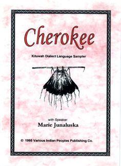 Cherokee: Kituwah Dialect Language Sampler