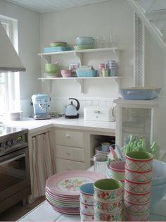 Sommerhusstil ...: Smeg Køleskab...