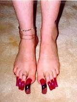 Long nails, Nails and Pink acrylic
