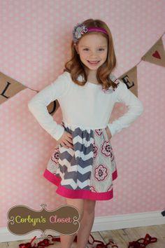Girls Easter Dress spring dress  toddler dress by CorbynsCloset, $33.00