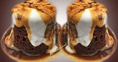 » Mugcake de chocolate con syrup de café