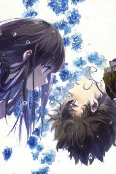 Chitanda & Oreki | Hyouka #manga