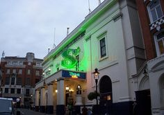 The Theatre Royal, Drury Lane on the day of its Bicentenary on the 10th of October 2012 during the run of Shrek - Photo M.L.