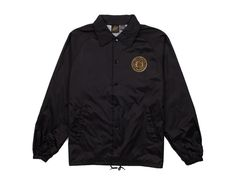 Rowing Club Black Coach Jacket - Outerwear - Shop   Benny Gold