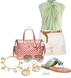 """Coach for Summer"" by christa72 on Polyvore"
