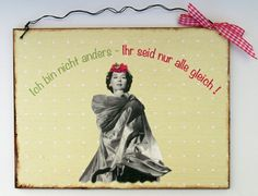 Geschenke für Frauen - Freundin Geschenk - ein Designerstück von Un-Art-Tick bei DaWanda