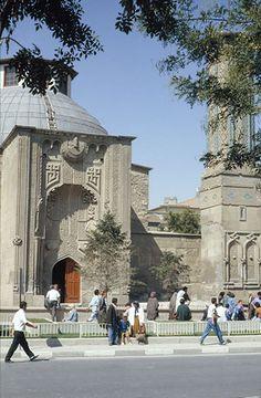 Ince Masjid built in year 1258 in Konya, Indonesia.