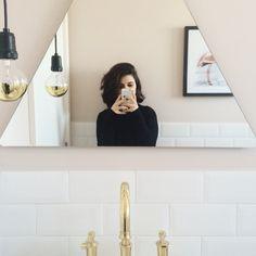 Espelho triângulo  triangle mirror