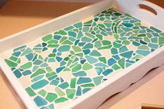 Sweet Something Designs: Sea Glass Tray