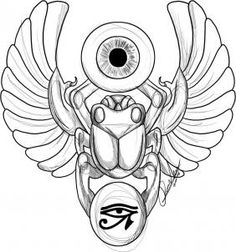 I don't need a tutorial but I like the body of this scarab.