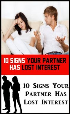 10 Signs of interest lost to your partner When You Love, When You Know, Told You So, Water For Health, Priorities List, Keeping Healthy, Learning To Be, Make Time, You Fitness