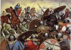871 King Ethelred of Wessex and his brother Alfred (the Great) defeated the Danish Vikings at the Battle of Ashdown. Ancient Rome, Ancient History, Anglo Saxon Kingdoms, Alfred The Great, Germanic Tribes, Empire Romain, Early Middle Ages, Historical Art, Roman Empire