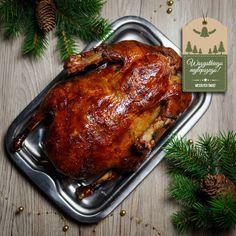 Wolno pieczona kaczka z aromatycznej solanki. Jak upiec kaczkę? Kaczka pieczona w całości, z chrupiącą skórką i soczystym mięsem. Yummy Food, Tasty, Food And Drink, Turkey, Meals, Cook, Recipes, Delicious Food, Turkey Country