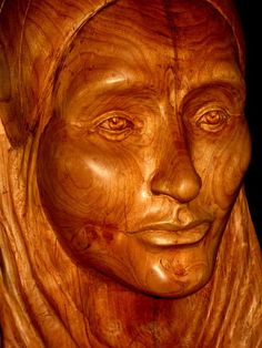 Hand carved Wood Sculpture of Woman In by GleasonsWoodworking, $1500.00