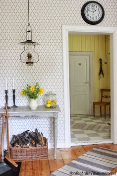 nordingården Swedish Cottage, Swedish Decor, Cottage Chic, Cottage Style, Swedish Interiors, Cottage Interiors, Interior Exterior, Home Interior, Interior Design