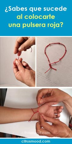 ¿Sabes que sucede al colocarte una pulsera roja? Colar Diy, Clara Berry, Arm Bracelets, White Magic, Girl Tips, Evil Eye Bracelet, Life Motivation, Wicca, Feng Shui