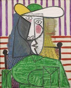 Busto de Mulher - Picasso e suas pinturas ~ O maior expoente da Arte Moderna