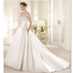 San Patrick Wedding Gown - Costura 2013 - Ancla