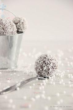 Truffes chocolat noix de coco [K_T e @ H. ®]